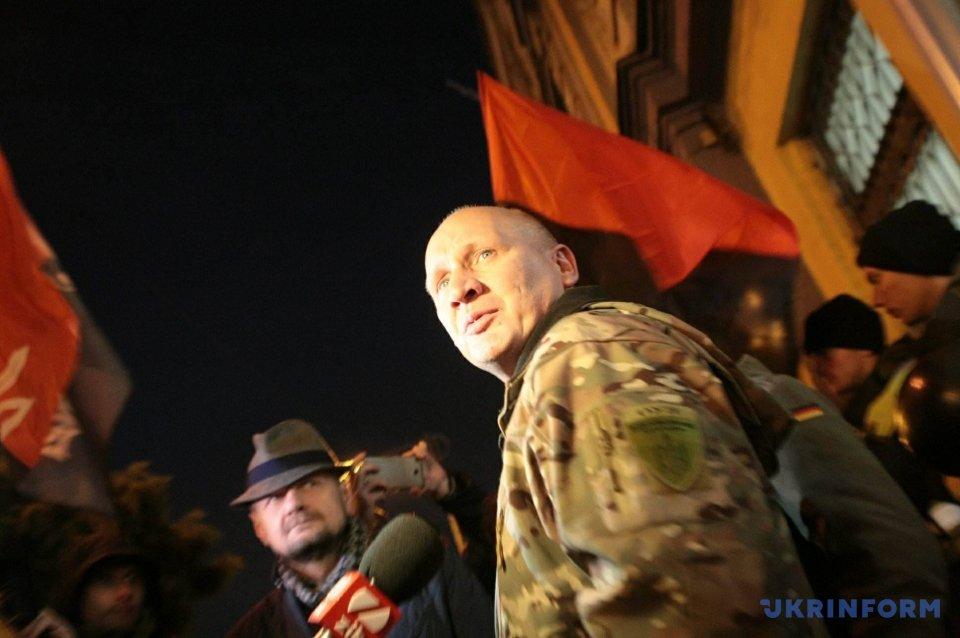 Лидера националистов Кохановского отпустили из-под ареста вКиеве