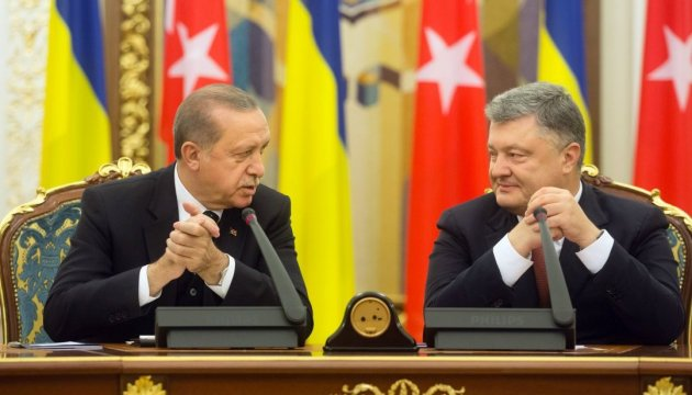 Erdogan sees Ukraine as key to security and peace in region