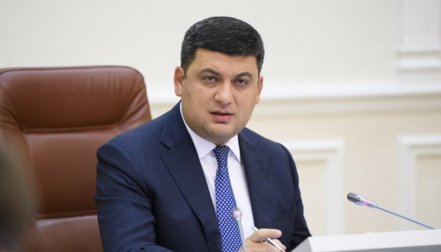 Groysman to check road repair works in Cherkasy and Kirovohrad regions today