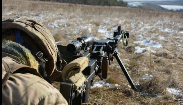 Militants launched 38 attacks on Ukrainian troops in Donbas in last day