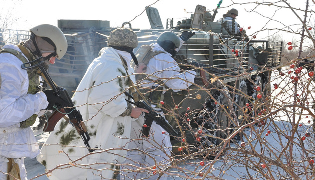 Militants launched 26 attacks on Ukrainian troops in Donbas in last day
