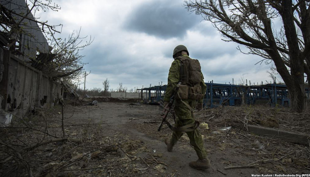 One Ukrainian soldier killed, three wounded, one injured in Donbas in last day