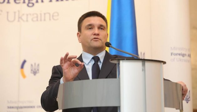 Klimkin to meet with new Polish foreign minister soon