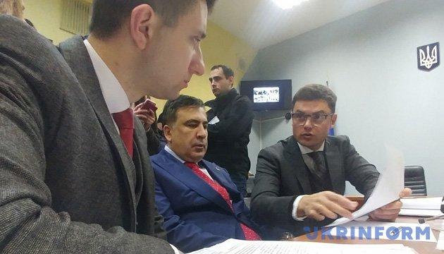 Saakashvili files lawsuit against his expulsion from Ukraine