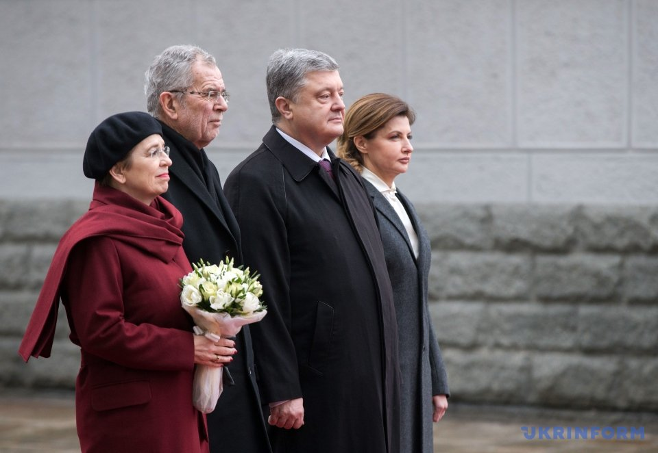 Poroshenko notes improvement of bilateral trade relations with Austria