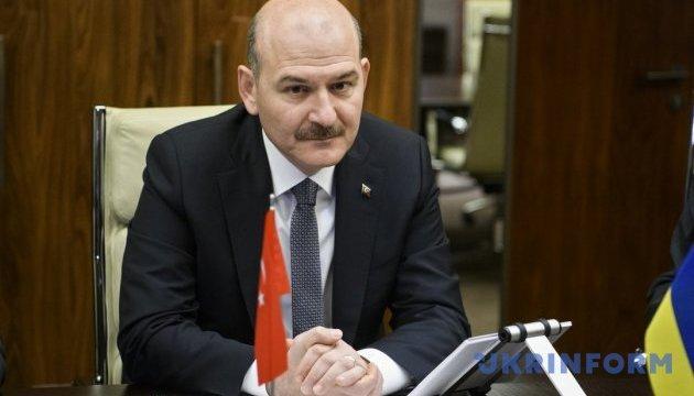 Turkey views annexation of Crimea as humanitarian tragedy