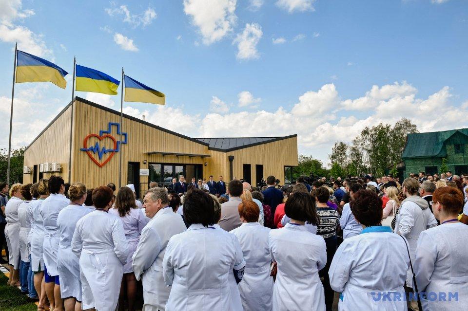 Порошенко: иностранные страны помогают Украине вреализации телемедицины