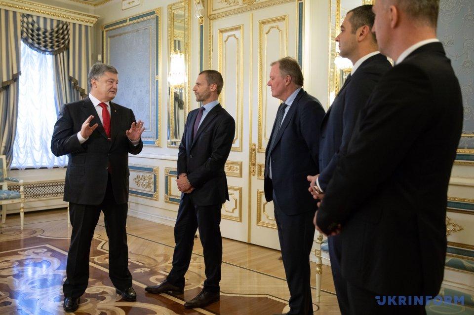 Президент УЄФА оцінив організацію фінальних матчів Ліги чемпіонів уКиєві