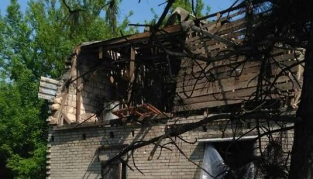 Militants used artillery to shell Troitske in Donbas, two civilians killed
