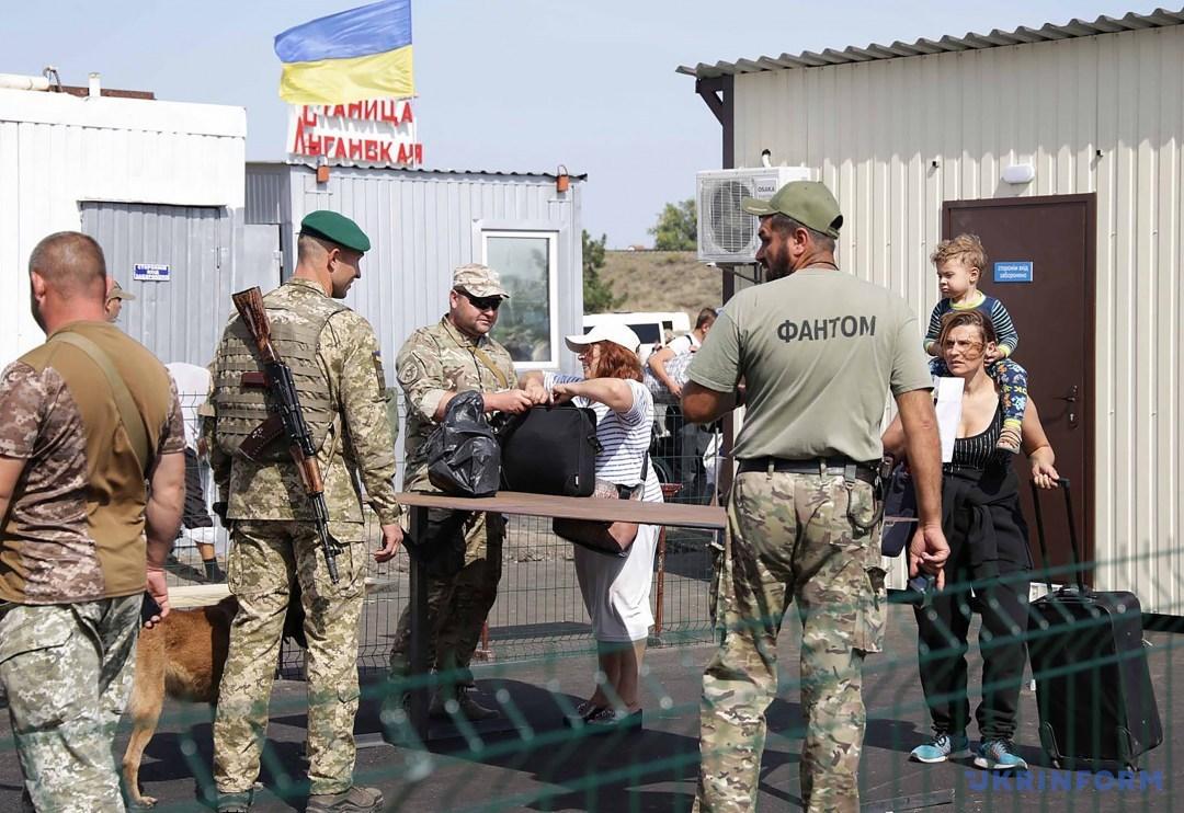 Украина готовит провокацию на КПВВ «Станица Луганская»