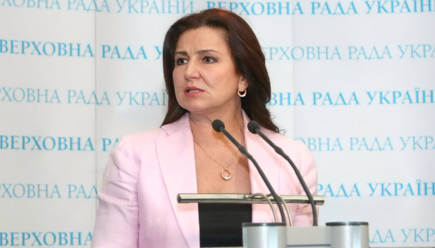 Богословська принесла документи у ЦВК