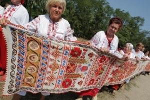 Рушник национального единства отправляется в тур к 100-летию Соборности Украины