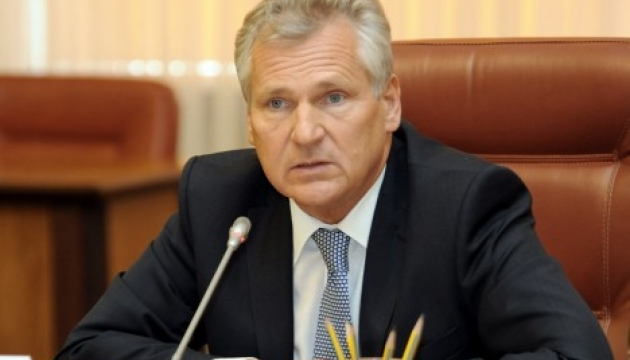 Escalation in Sea of Azov could be related to elections in Ukraine - Kwasniewski