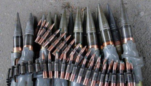 Dans le Donbass, les combattants  russes stockent des munitions dans une école