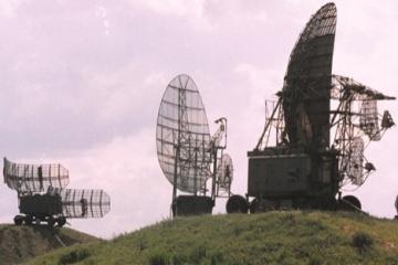 在顿巴斯发现新的俄罗斯卫星通信系统