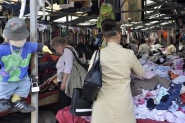 L'année dernière, plus de 120 000 tonnes de vêtements d'occasion ont été importés en Ukraine