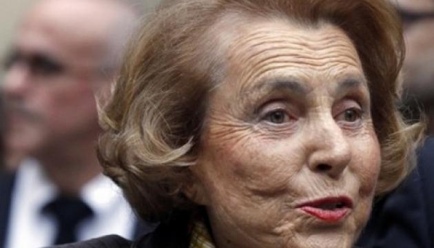 Померла найбагатша жінка у світі Ліліан Беттанкур