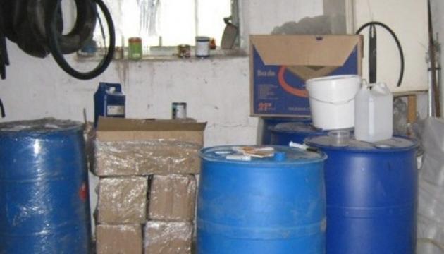 На Вінниччині спецслужби викрили потужний підпільний спиртзавод