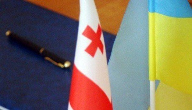 Ukraine und Georgien werden gemeinsam Transportkorridor von der Ostsee bis zum Kaspischen Meer entwickeln