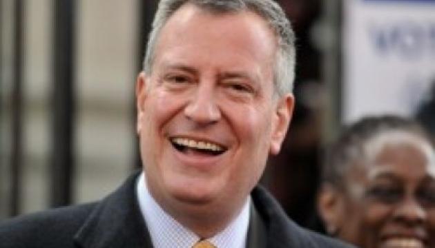 Мер Нью-Йорка де Блазіо збирається балотуватися у президенти — ЗМІ