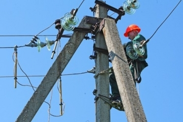 Se aplican medidas para reanudar la electricidad en 198 localidades de Ucrania