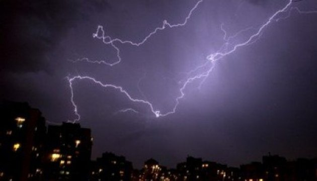 State Emergency Service warns of thunderstorms and squalls in some regions of Ukraine