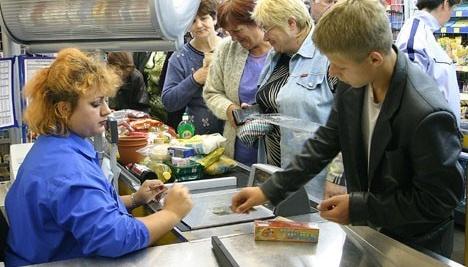 Comercio al por menor crece un 5,5% en Ucrania