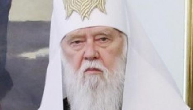 Im Europäischen Parlament wird Patriarch Filaret für die Ukraine beten