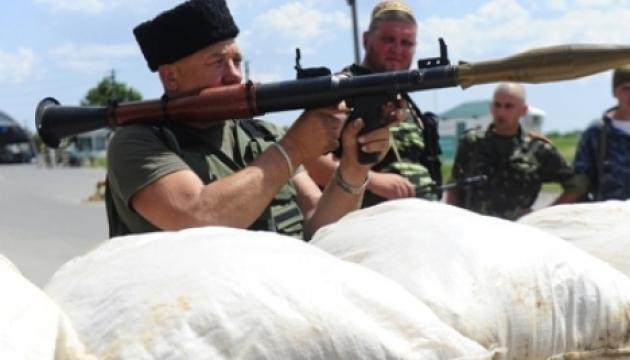 Бойовики випустили по Донецькому напрямку 230 мін за добу