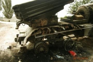 L'OSCE a de nouveau détecté des Grads placés en violation des accords Minsk