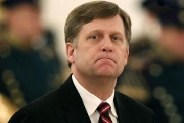 マクフォール元米大使、ウクライナの親露テレビ局への制裁を擁護するコメント