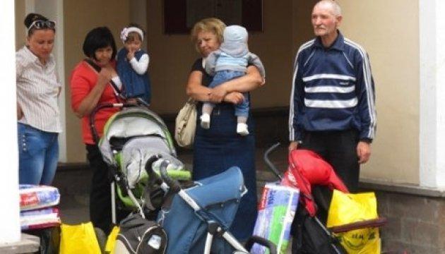 L'Ukraine a déjà enregistré 1 589 014 déplacés internes du Donbass et de la Crimée