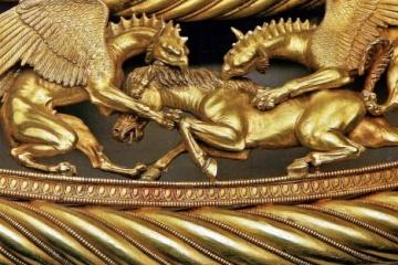 La collection de trésors archéologiques de Crimée serait conservée au musée national d'histoire de l'Ukraine