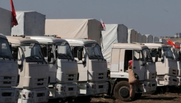 ОБСЄ зафіксувала на окупованому Донбасі вантажівки з російською