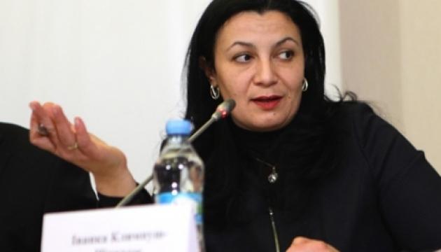 Klympush-Tsyntsadze : les déclarations électroniques pour les activistes ne violent pas l'accord d'association avec l'UE