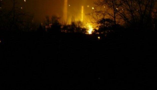 Attaque ennemie sur le village de Zhovanka: une maison a brûlé (vidéo)