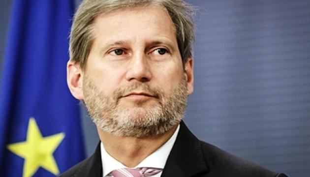 Un commissaire de l'UE rappelle à l'Ukraine son engagement en matière de déclaration de patrimoine pour les activistes