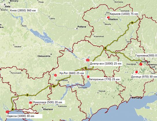 В Украине остановлен транзит аммиака, - Hubs - Цензор.НЕТ 9986