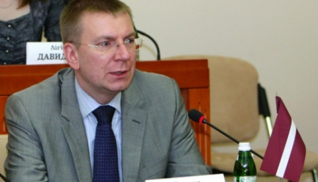 Глава МЗС Латвії: ЄС повинен чітко продемонструвати підтримку України