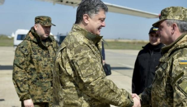 Порошенко: Украинская армия - одна из наиболее боеспособных на континенте