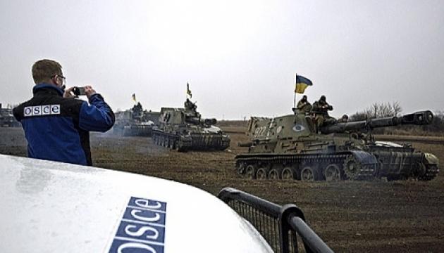Des miliciens abattent un drone de l'OSCE près de Miusynsk