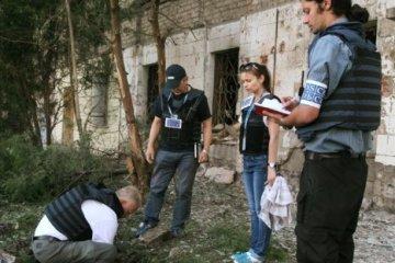 L'OSCE a indiqué les points les plus chauds à l'est de l'Ukraine