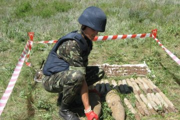 Emergency Service: 2,938 explosive devices already disposed at ammunition depot near Kalynivka