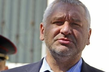 Feygin llama a felicitar a Román Súshchenko por la Navidad