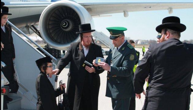 На еврейский Новий год в Украину летят более 13 тысяч хасидов