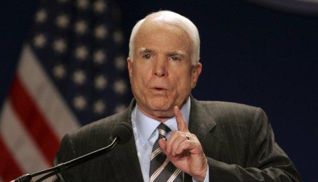 Маккейн считает Россию большей угрозой, чем ИГИЛ