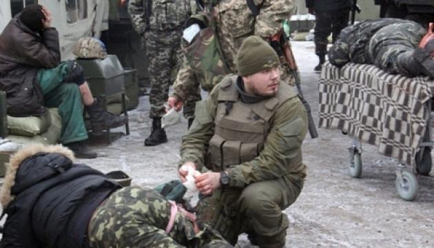 В АТО поранені десятеро українських бійців, загиблих немає