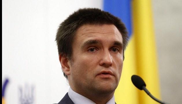 Klimkin: Ukraine für Befreiung der Gefangenen zu allen Schritten bereit
