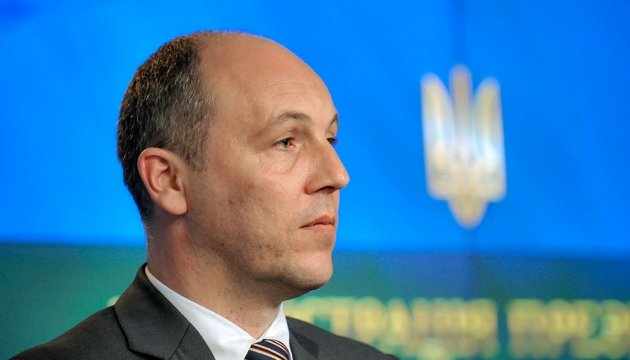 Parubiy hopes for positive decision on arms supplies to Ukraine