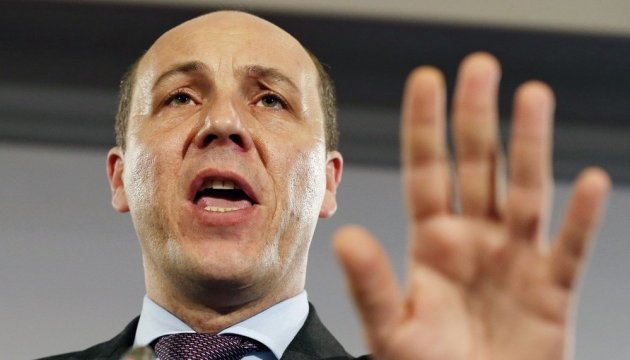 Speaker Parubiy offers MPs to introduce visa-regime with Russia in response to Sushchenko arrest